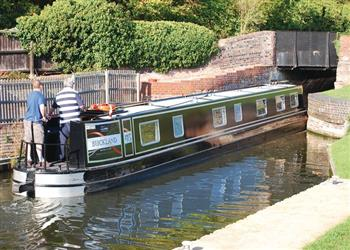 Boating holidays on Anna (BH2349) from Trevor, Llangollen