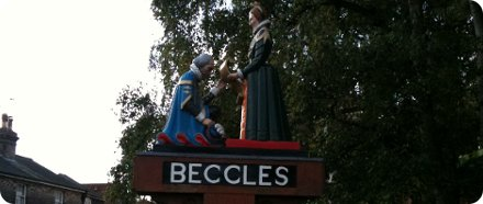 Beccles in Suffolk