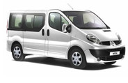 9 Seater hire car