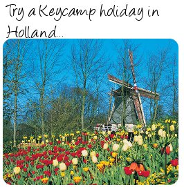 Keycamps in Holland