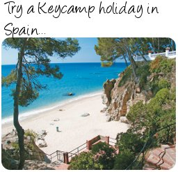 Keycamps in Spain