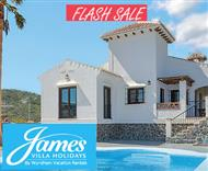 James Villas sale - villa holidays in April, May and June 2016