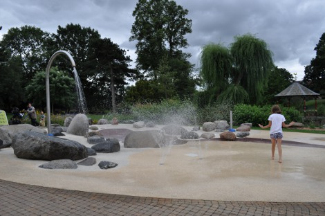 Play fountains at Gheluvelt Park