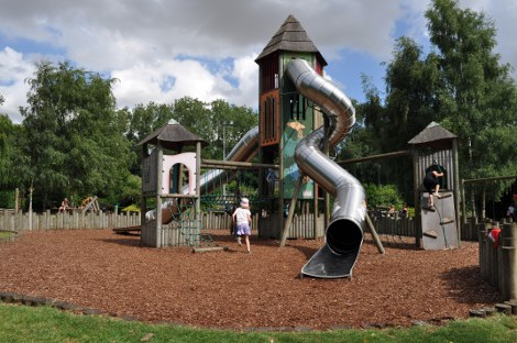 The playground at Banham Zoo