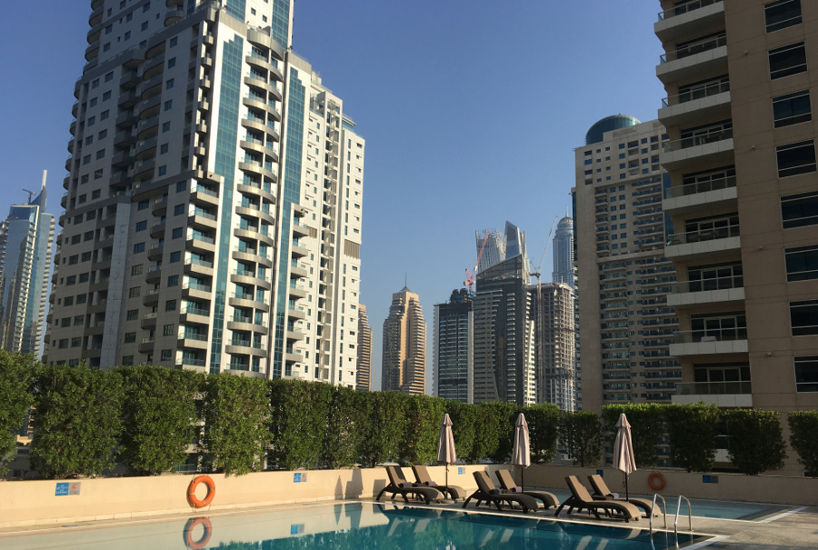 The Radisson Blu in Dubai Marina