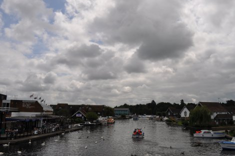 The River Bure at Wroxham, Norfolk