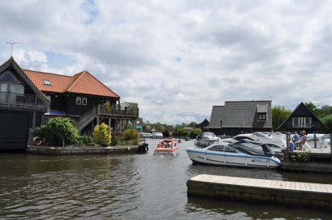 Take the time to watch the world go by in Wroxham