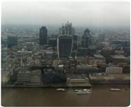 The view at The Shard