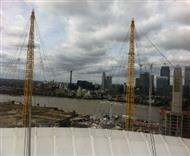 Walk over the O2 Arena