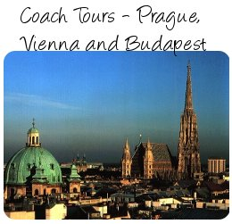 Coach holidays - Prague, Vienna and Budapest