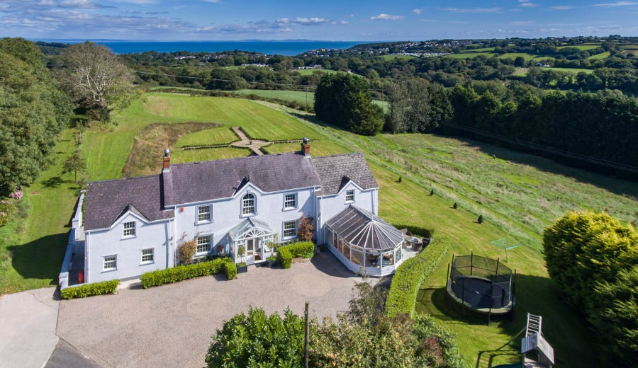 Bay View House in Saundersfoot, Pembrokeshire