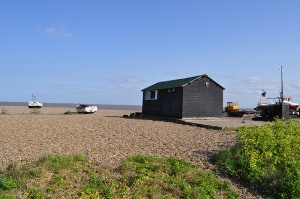 Beach and boats at Aldeburgh