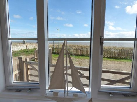 The sea views from Beach Cottage