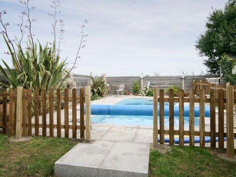 The swimming pool at Beyond the Beach, Sea Palling