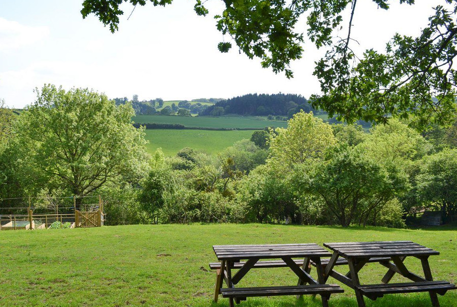 Burrills View near Craven Arms has a peaceful location