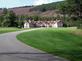 Bynack at Mar Lodge Estate in Braemar, Aberdeenshire