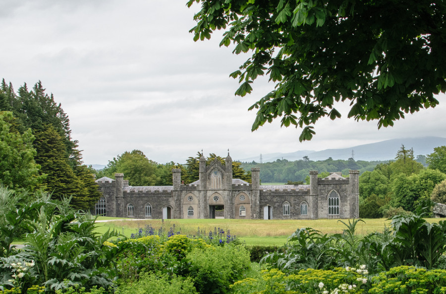 The National Trust property of Plas Newydd is a short drive from Caer Merddyn