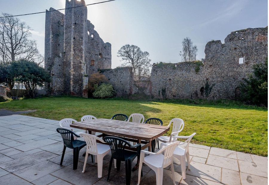 Castle Lodge is set in the grounds of a 14th Century Castle!