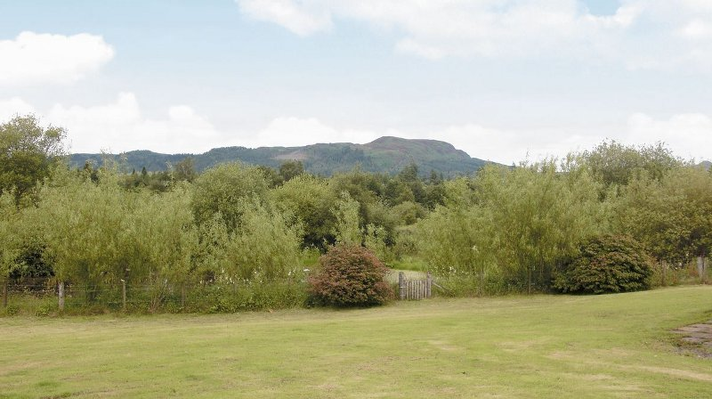 The views from the garden at Craigview Cottage near Aberfoyle
