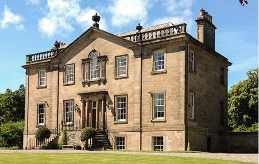 Dalvey House in Forres, Moray coast