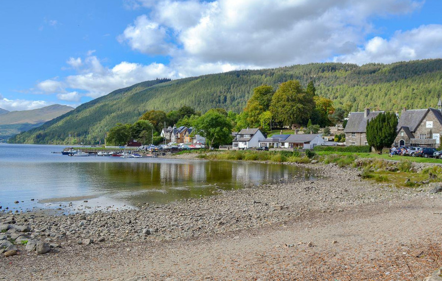 Loch Tay, near Deuchars Cottage in Perthshire