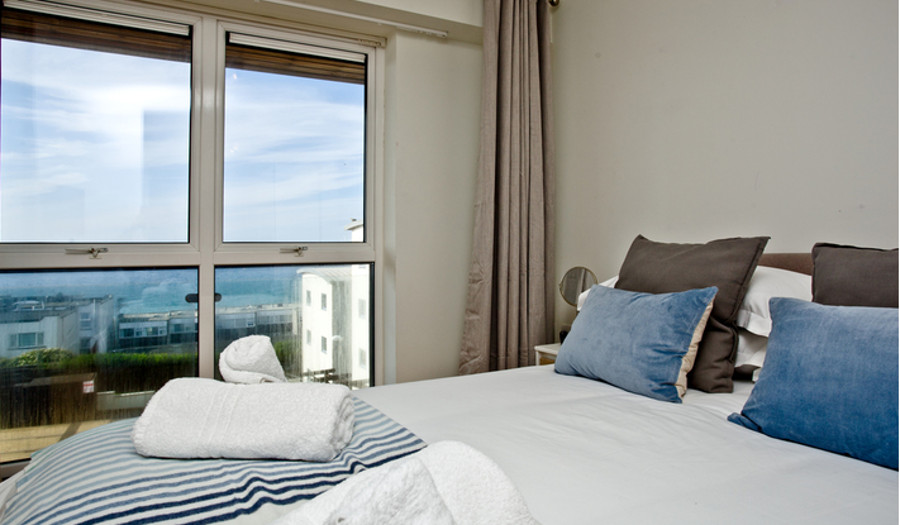 Fistral Lookout in Newquay has 2 bedrooms - a double and a twin