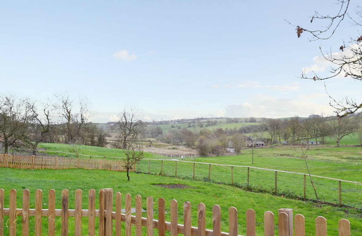 The views at Gratton Grange Farm Holiday Cottage near Bakewell