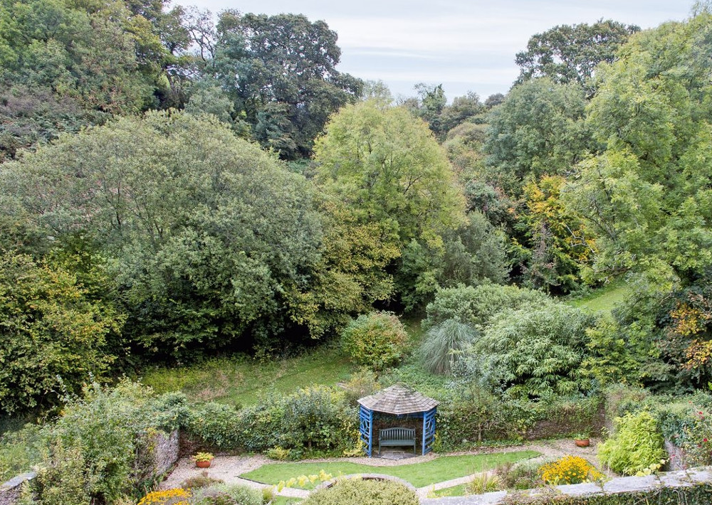 There are 4 acres of gardens at Higher Venice in Allaleigh, Devon