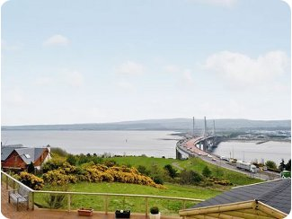 The view from Hill View House,<br />Inverness