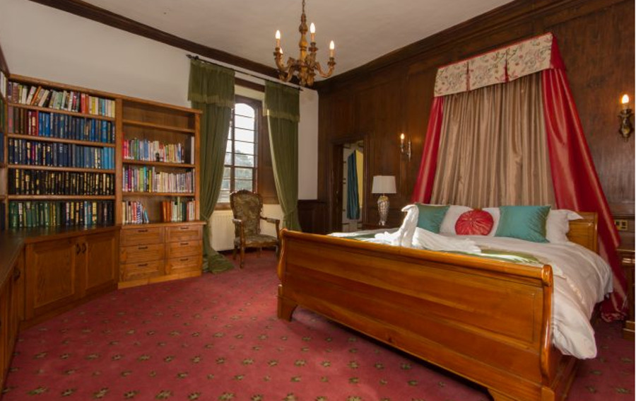 Hockwold Hall has nine bedrooms - this one is the Thetford
