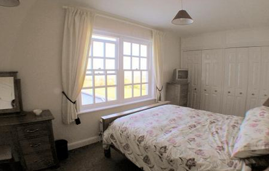 One of the six bedrooms at Kennacott House in Widemouth