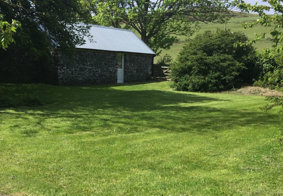 Kirkland House has an acre of lawned garden