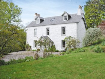 Kirkmichael House in Blairgowrie, Perthshire