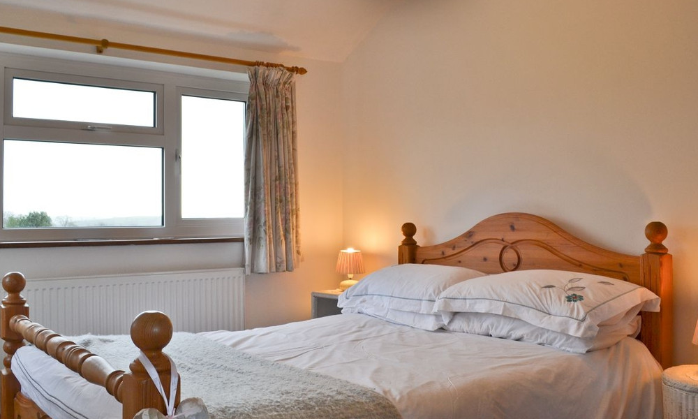 One of the bedrooms at Little Bent near Leek