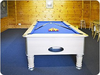 Get in some games of pool at Little Home Farm