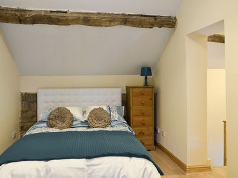 The bedroom at Love Cottage, near Leek