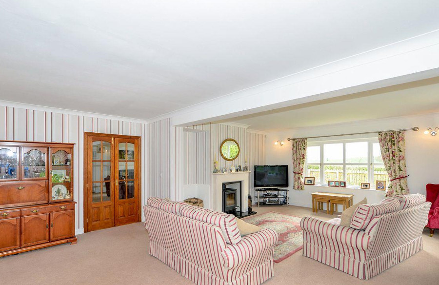 One of the three living rooms at Oak Dene near Northallerton