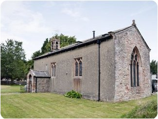 Old St. Lukes Church in Kirkby Stephen, Cumbria
