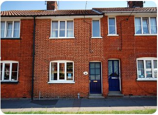 Pugwash Cottage in Southwold, Suffolk