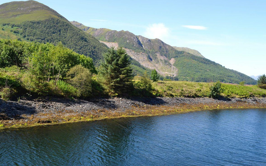 River Mill House in Ballachulish has some lovely scenery