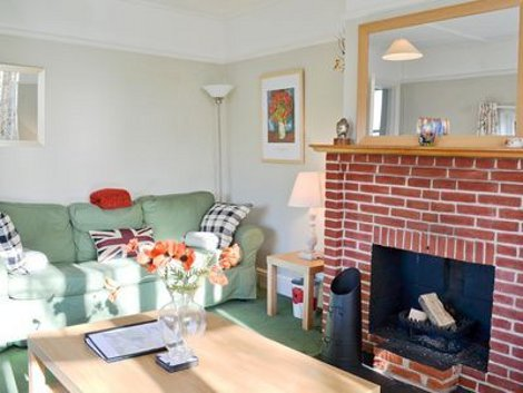 The living room at Riverside House in Beccles