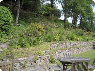 Relax in the garden at Rock Cottage, Barnstaple
