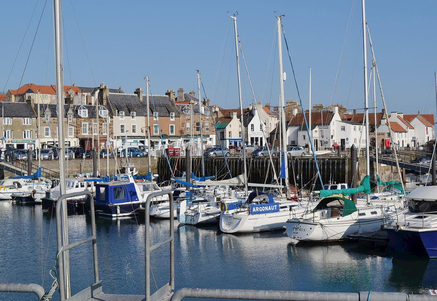 Anstruther is a short drive from South House