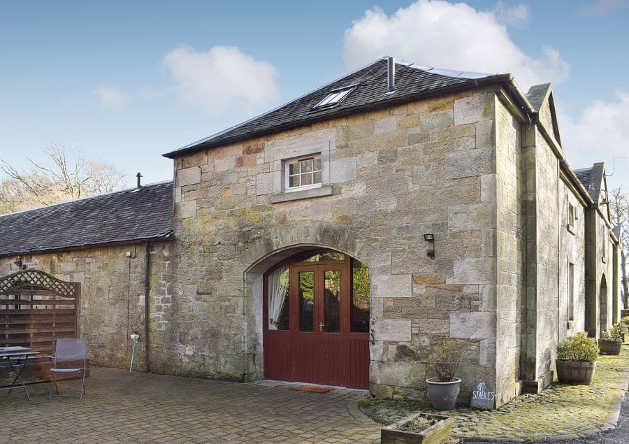 Stables at Benarty Holiday Cottages in Kelty, Fife