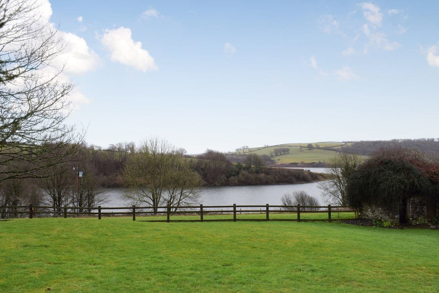 The Barn by The Lake is in the Exmoor National Park, in rural Somerset