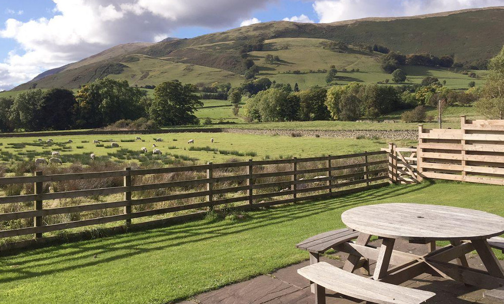 The views from your garden at The Garth on Blake Beck Farm, Cumbria