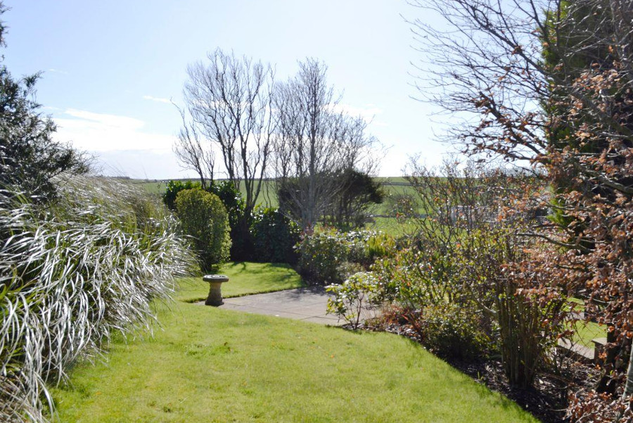 The garden and views around Dumfries and Galloway from The Maltings