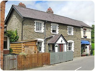 The Old Railway Tavern in Clun, Shropshire
