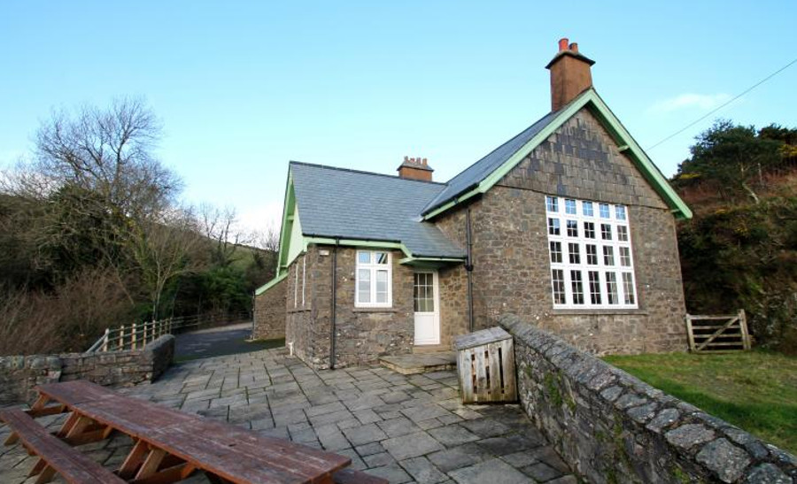 The School House in Countisbury, Devon