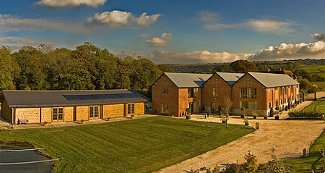 The Victorian Barn and Dairy House Farm Cottages in Blandford Forum, Dorset